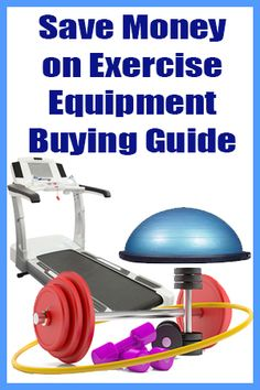 Save Money on Exercise Equipment #inspireothers