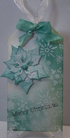 Merry Christmas Tag by prairiecrafter - Cards and Paper Crafts at Splitcoaststampers