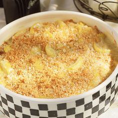 Cheesy Squash Casserole    Low-fat dairy products allow you to enjoy this Thanksgiving favorite guilt free.    Ingredients: Yellow squash, onion, margarine, flour, skim milk, reduced-fat cheddar cheese, breadcrumbs