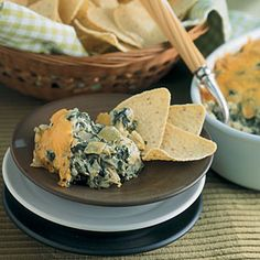 Hot Spinach-Artichoke Dip | MyRecipes.com