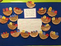 Chalk Talk: A Kindergarten Blog: Spring is Here! Cute Bird Nests & Signs of Spring!