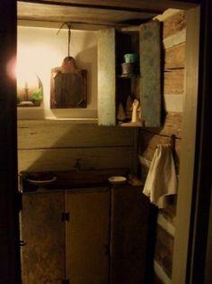 primit bath, prim bath, bathroom, countri bath