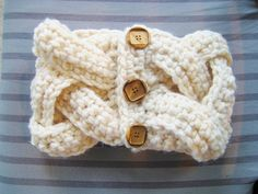 Alicia Cowl: free pattern - I want to do this as a bracelet or a ring.