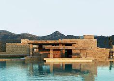 World Architecture Festival 2014 day one winners. Shopping category winner: Yalikavak Marina Complex by Emre Arolat Architects