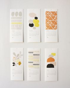 . of paper and things .: paper fix | calendar
