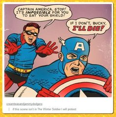 """Expectations for """"Captain America: The Winter Soldier"""" WHY AM I LAUGHING SO HARD"""