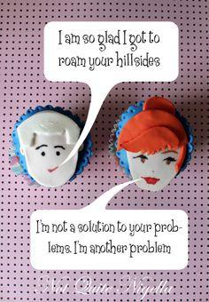 Mad Men Cupcakes!!