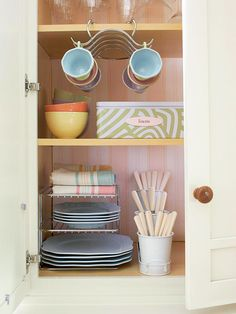 When you need more space - take advantage of vertical storage.