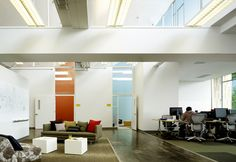 The New Facebook Office - Office Snapshots