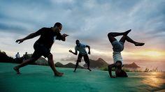 Capoeira in Rio de Janeiro    (Copyright: Pirelli)