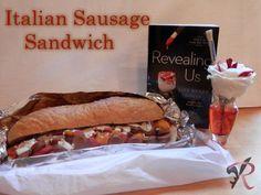 LRJ Recipe - Raes Italian sausage sandwich
