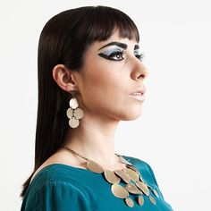 Cleo #handmadejewelry #accessories #handmade #phenomena  Beleza por www.thelmamarques.com