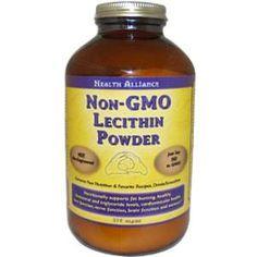 HealthForce Nutritionals, Non-GMO Lecithin Powder, 375 g - iHerb.com. Bruk gjerne rabattkoden min (CEC956) hvis du vil handle på iHerb for første gang. Da får du $5 i rabatt på din første ordre (eller $10 om du handler for over $40), og jeg blir kjempeglad, siden jeg får poeng som jeg kan handle for på iHerb. :-)