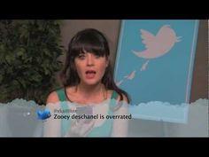 Celebrities Read Mean Tweets. I died