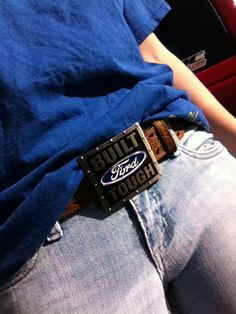 ford buckle