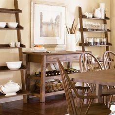 dining rooms, dine room, farmhouse table, casual dining, kitchen