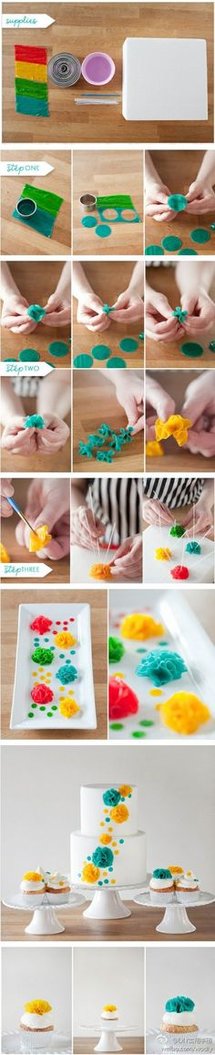 Fruit Roll Up Flowers
