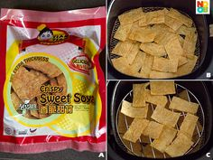 Air-Fried Zai Er Recipe (Vegetarian Mock Goose) - Noob Cook Recipes