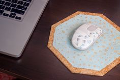 theDIYdiary: Ten Dollar Tuesday: Cork Mouse Pad