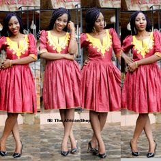 Marina Dress by THEAFRICANSHOP on Etsy, £70.00