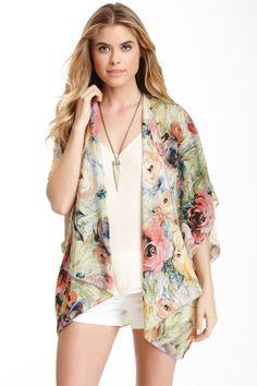 kimono shrug, silk kimono