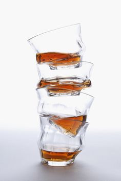 Melting glasses, perfect for that one last drink.