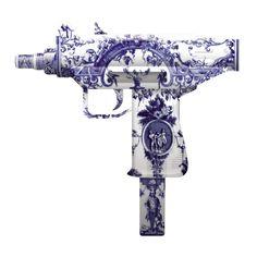 Delft Machine Gun by Magnus Gjoen. $450