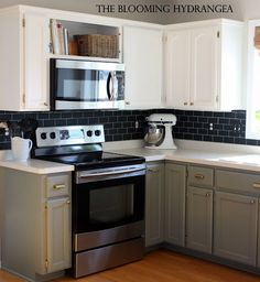 Chalkboard subway tile