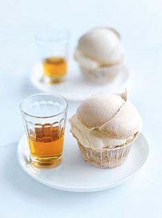 brown sugar cupcake
