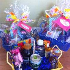Bachelorette Gift Baskets for Weekend trip