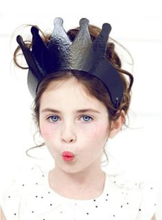 Paper party hat and crown ideas   100 Layer Cakelet