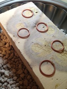 Learn to solder brass rings (free e-course)