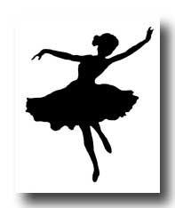 Dancer Silhouettes :: Ballerina Silhouette
