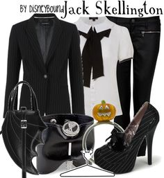 """Jack Skellington- """"Use DisneyBound as inspiration to pull together fashionable Disney outfits which work for your body and wallet. I, Leslie, do not claim to own anything I post from clothes to characters. This is nothing more than a fan site. Keep calm and Disney on"""""""