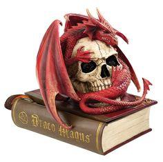 Blood Dragon Contemplation Sculptural Box
