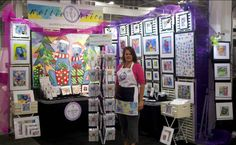 Nettie Price Sparkling Art at Philadelphia Gift Show