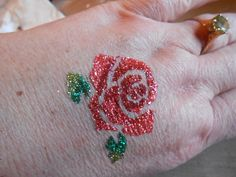 Love the new Body Glue/Tattoo Kits from Art Glitter.  So much fun and lovely colors