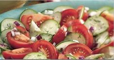 You Probably Didn't Know This: You Should Never Eat Cucumbers and Tomatoes In The Same Salad!