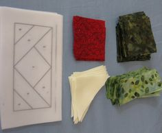 Free Tutorial - Paper Piecing Quilt Blocks by Denise