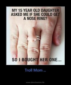 Nose Ring....lol!!!   =) Wish I had this!