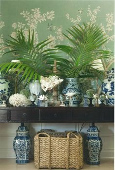 Chinoiserie Chic: Readers' Requests Series - Coastal Chinoiserie