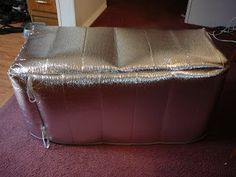 Camping and Gardening: Thermal Cooler Cover tutorial