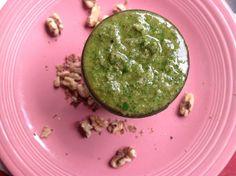 vegan walnut basil pesto