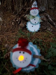 Snowman Light by BritTsPaperBoutique on Etsy, $1.50