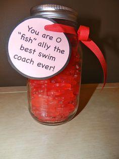 Swim Coaches Appreciation Gift