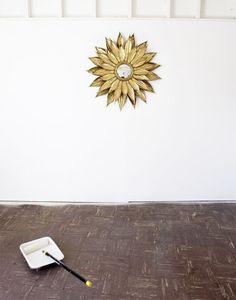 Taco pintado. Veja mais: http://www.casadevalentina.com.br/blog/materia/manual-dos-tacos-pintados.html #decor #decoracao #color #cor #interior #design #details #detalhes #floor #piso #casadevalentina