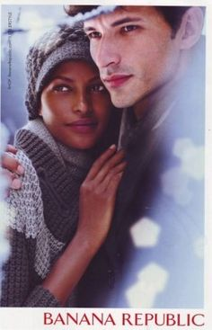 interracial couples in mainstream ads....beautiful!
