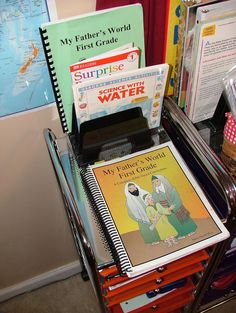 """Great """"how to"""" prepare and use My Father's World 1st Grade homeschool curriculum."""