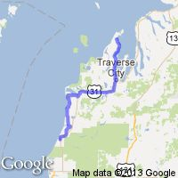 Motorcycle Routes Around Lake Michigan Carnmotorscom - Lake michigan circle tour map