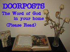 Ideas for Having the Word of God around your home.